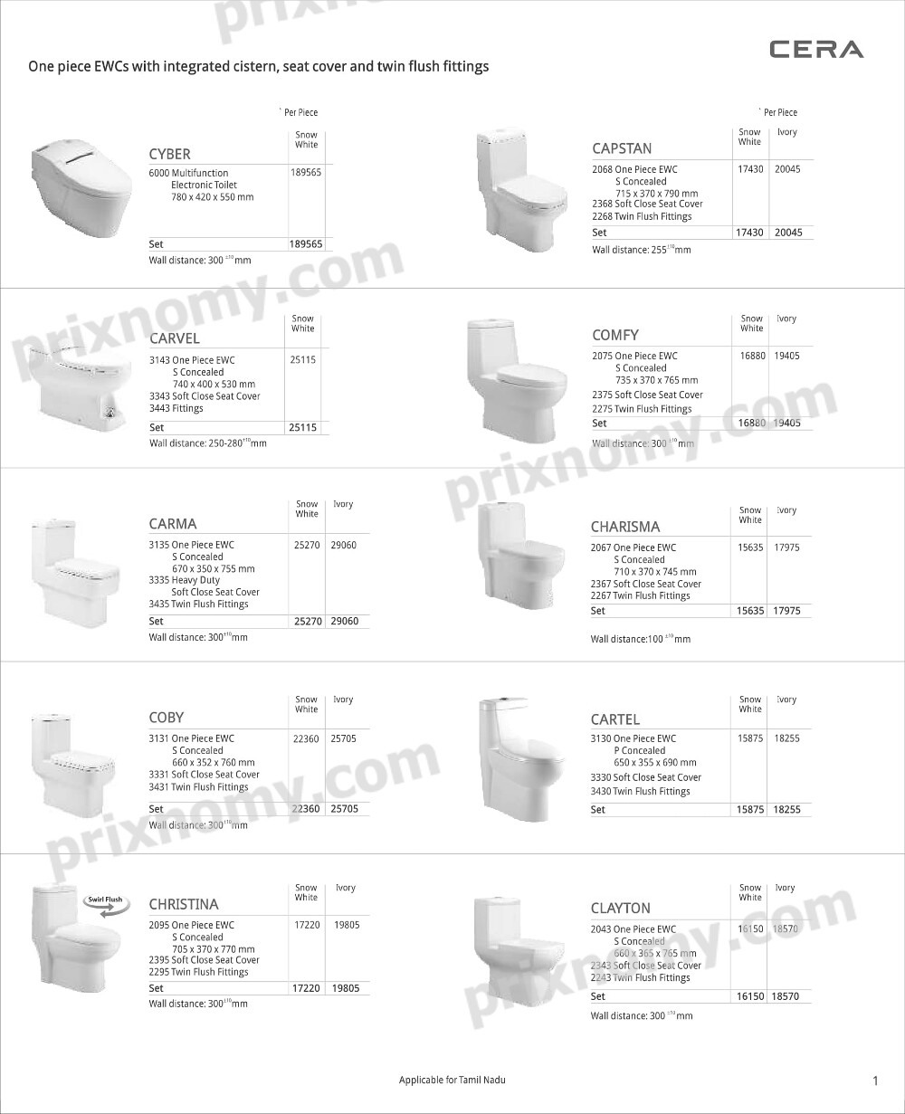 cera sanitaryware price list Outstanding Cera Faucets Price List 2016 Pdf Picture Collection  cera sanitaryware price list